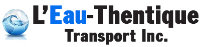 Transportation of drinkable water, city emergency  | L'Eau-Thentique transport